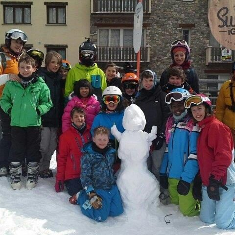 Ski Week Englis School Barcelona